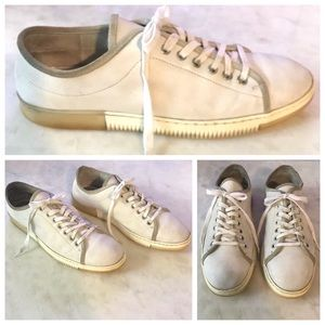 Vince Camuto Justen Leather Sneakers, White